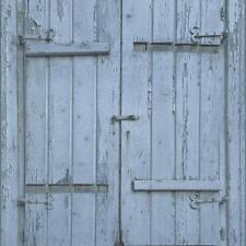 Rasch finestra IN LEGNO COUNTRY Barn modello Carta da Parati Rustico realistico in ecopelle effetto