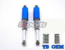 Honda CT70 Rear Shock Set Candy Blue 1969 1994 Heavy Duty Springs For Adults New