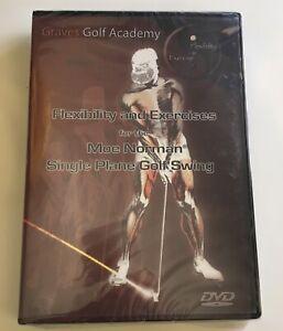 Graves Golf - Flexibilty & Exercise - Moe Norman Single Plane Golf Swing DVD