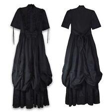 Medium Gothic Victorian Choice Black Ball Gown Dress Steampunk Reenactment