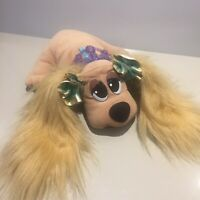 Pound Puppies Vintage 80s Brush N Style Prom Princess Dogs Puppy