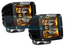 """PAIR OF RIGID INDUSTRIES RADIANCE 20204 12V 3"""" LED PODS WITH AMBER BACK LIGHTING"""