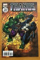 Thanos #18 2018 Cover B Variant Mike Perkins Venom 30th Ann Cover  Marvel  NM+