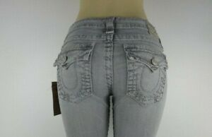 NWT True Religion Billy super T straight, seal, Size 28