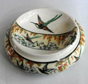 Vintage Handpainted Ring or Pin Dish 12803