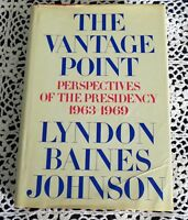 Vantage Point by Lyndon Johnson SIGNED Stated 1st Edition 1st Ptg Extra Photos