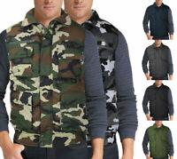 Men's Multi Pocket Premium Military Tactical Hunting Fishing Utility Zip Up Vest