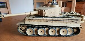 HENG LONG 1/16 SCALE RC TIGER 1 MODEL TANK WITH ZIMMERIT COATING