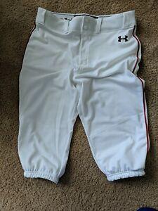 Under armour baseball pants large