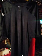 Adidas American Football Jersey Black Mesh Team Performance 2XL Mens
