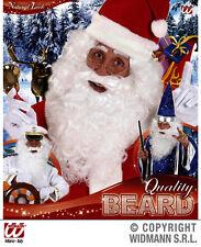 Maxi Barba bianca Babbo Natale Mago Stregone WIDMANN White Beard B0532