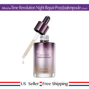Missha Time Revolution Night Repair PROBIO Ampoule 50ml RENEW + Free Sample