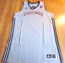 ADIDAS NBA D-LEAGUE REVOLUTION 30 UTAH FLASH AUTHENTIC BLANK JERSEY XL+2