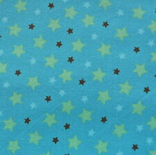 Mod Tod Blue Stars by Sherri Berry Designs for Riley Blake, 1/2 yd cotton fabric