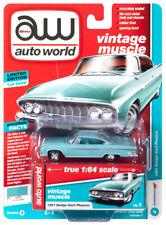 2019 AUTO WORLD 1:64 *PREMIUM 3A* Spring Green 1961 Dodge Dart Phoenix *NIP*
