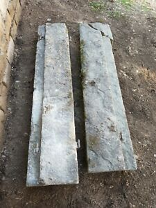 Antique Hand Carved Stone Posts pillars