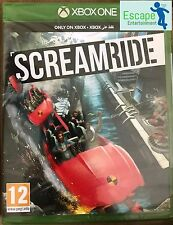 SCREAMRIDE XBOX ONE NEW and SEALED Game EN/AR