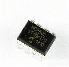 10PCS MCP602-I/P IC OPAMP DUAL SNGL SUPPLY 8DIP NEW GOOD QUALITY