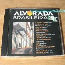 Alvorada Brasileira 2 1996 CD Belo Veloso, Boca Livre, Ivan Lins, Marcia...#K02
