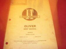 Oliver 44 440 Tractor I & T Shop Manual