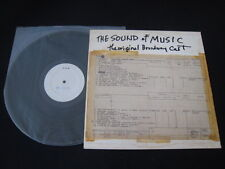 Sound of Music Japan Promo White Label Test Press Vinyl LP Mary Martin