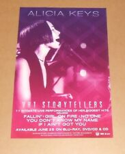Alicia Keys Vh1 Storytellers Double Sided 2013 Promo Poster 17x11