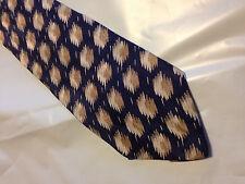 Mens Blue Brown SILK Tie Necktie SAVILLE~ FREE US SHIP (8970)