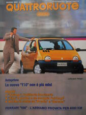 Quattroruote 452 1993 - Test Ferrari 456 - Twingo - Tipo 3 porte   [Q37]