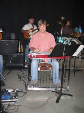 Pedal Steel Guitar Mike Johnson Course MJ-10 E9/C6 Silver Wings & Night Life