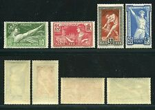 """FRANCE STAMP TIMBRE N° 183 / 186  """" SERIE JEUX OLYMPIQUES 1924 """"  NEUFS xx LUXE"""