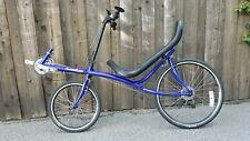 Actionbent Recumbent Bicycle Blue.