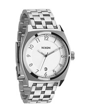NEW Nixon Monopoly Watch Silver One Size AUTHENTIC