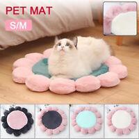 Pet Soft Bed Mattress Dog Doggy Cat Cushion Mat Warm Blanket Flower Shape New