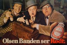 Die Olsenbande sieht rot * Poster, Plakat, Tuborg Bier DDR * keine DVD Blu-ray