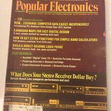 Popular Electronics Magazine Exchange Computer Data September 1975 071917nonrh