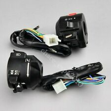 "12V Motorcycle 7/8"" Handlebar Horn Turn Signal Electrical Start Switch For Honda"