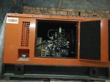 New 10Kw Yanmar 1 Phase Diesel Powered Generator & Enclosure and ATS