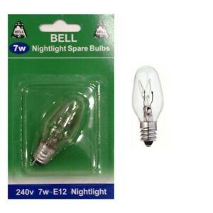 BELL 02393 - 7W 240V E12 CES Night Light Spare Light Bulb