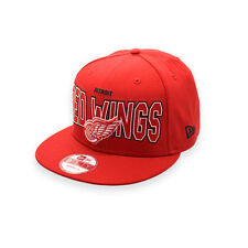 NEW ERA DETROIT RED WINGS VINTAGE HOCKEY SNAPBACK 9FIFTY CAP