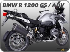 TERMINALE DI SCARICO REMUS 8 INOX NERO BMW R 1200 GS / GS ADVENTURE 17 18 EURO4