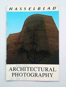 Hasselblad Architectural Photography booklet 1973