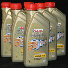 5x1 Liter Castrol EDGE Professional 5W-30 VW 504 00 507 00 Longlife 5W30 Motoröl