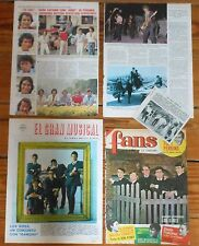 LOS SIREX coleccion de prensa 1960s/80s spanish pop band revista fotos