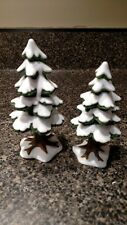 """Department 56 """"Village Small Porcelain Pins"""". Set of 2 Retired. #52515"""