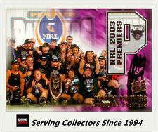 Select NRL Limited Edition Case Card: 2004 NRL Authentic Penrith