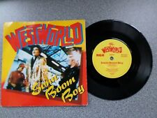 "WESTWORLD - SONIC BOOM BOY - 7"" VINYL SINGLE - P/S"