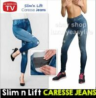 NEW SLIM N LIFT CARESSE JEANS Slim TV Werbung Leggins Hose Jeans Optik  Jeggings