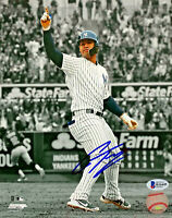 New York Yankees Gleyber Torres Signed 8 x10 Photo Auto - Beckett BAS COA Point