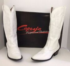 Capezio Professional Outfitter Dance White Cowboy Boots Size 9M