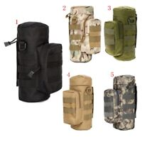 Tactical Molle Water Bottle Holder Militray Hydration Kettle Pouch Carrier Bag